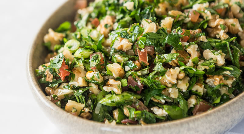 Walnut Tabbouli Salad