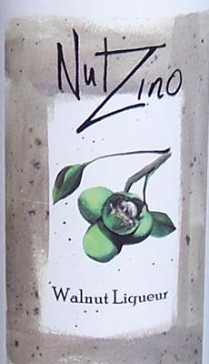 Nut Zino Liqueur Label